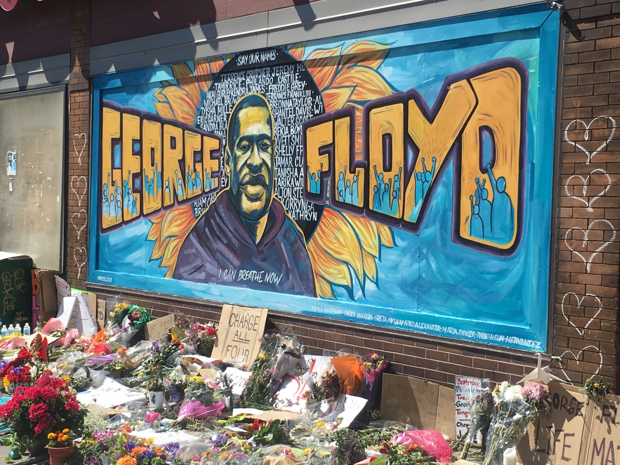 Coming Out of Minneapolis Tragedy, the Community Creates a Healing Public Space